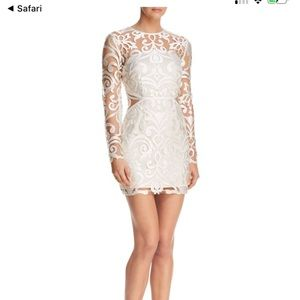 Finders keepers ivory alchemy embroidered dress!!!